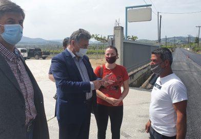 Ασφαλτοστρώθηκε η οδός Αγίας Μαρίνας στον Άσσο- Β.Νανόπουλος: Συνδέουμε τον Άσσο με τον Προαστιακό 07.05.21